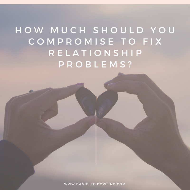 How much should you compromise to fix relationship problems?