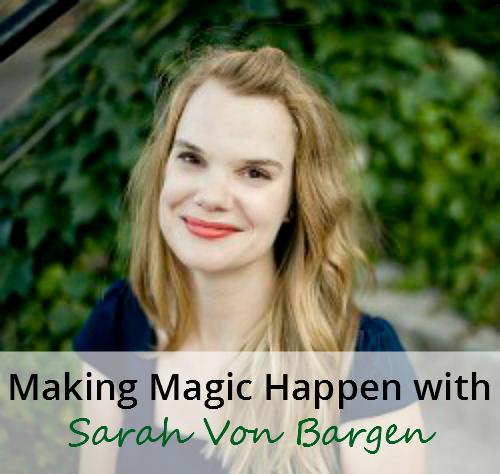 Sarah Von Bargen Interview