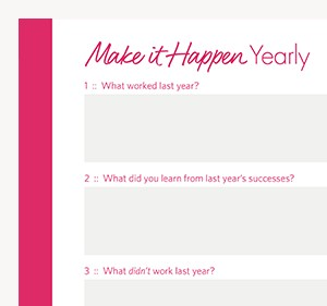 make_it_happen_yearly planner download