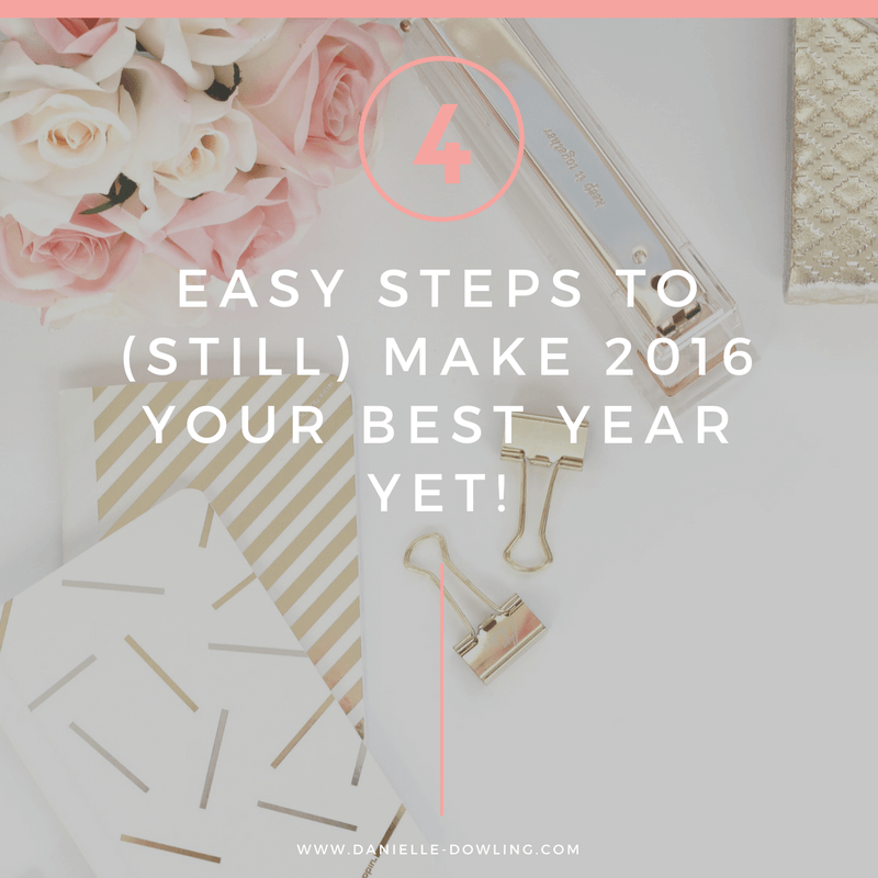 Easy Steps to Have Your Best Year Yet