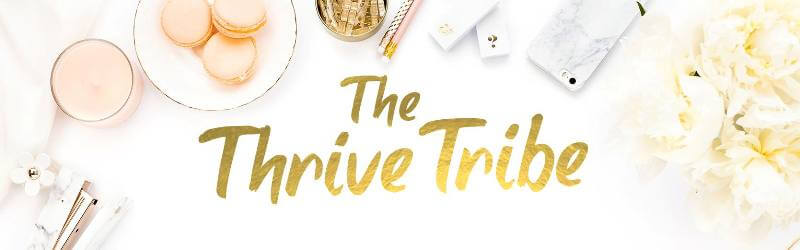 The Thrive Tribe Facebook Group