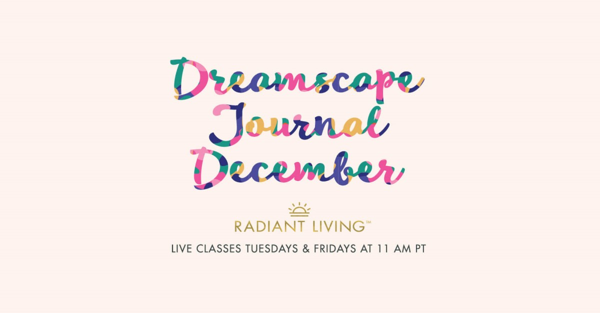 dreamscape journal december banner