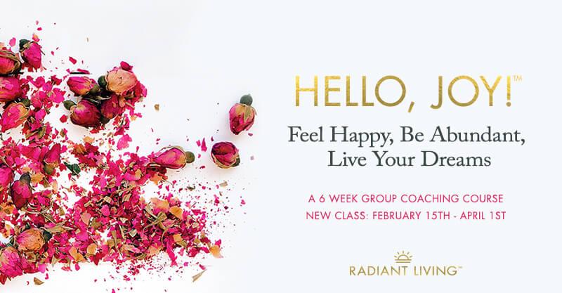 Hello, Joy! Life Coaching Program Banner 2021