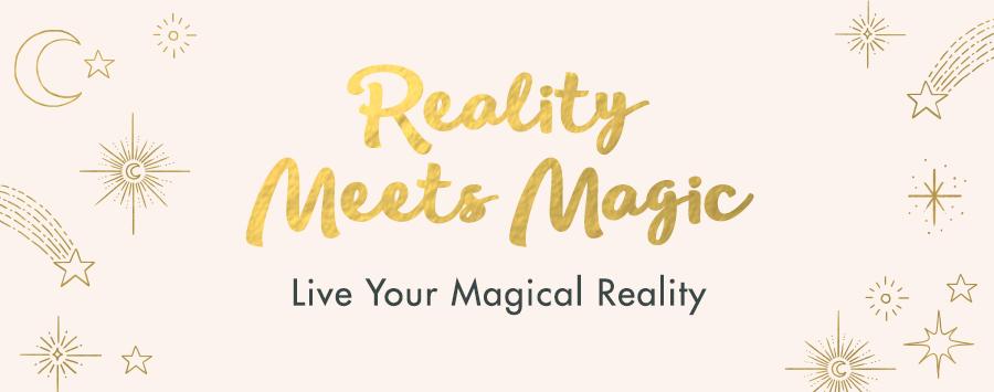 Reality Meets Magic Mentorship Program Banner - Manifest abundance with Dr. Danielle Dowling through strategic and spiritual coaching